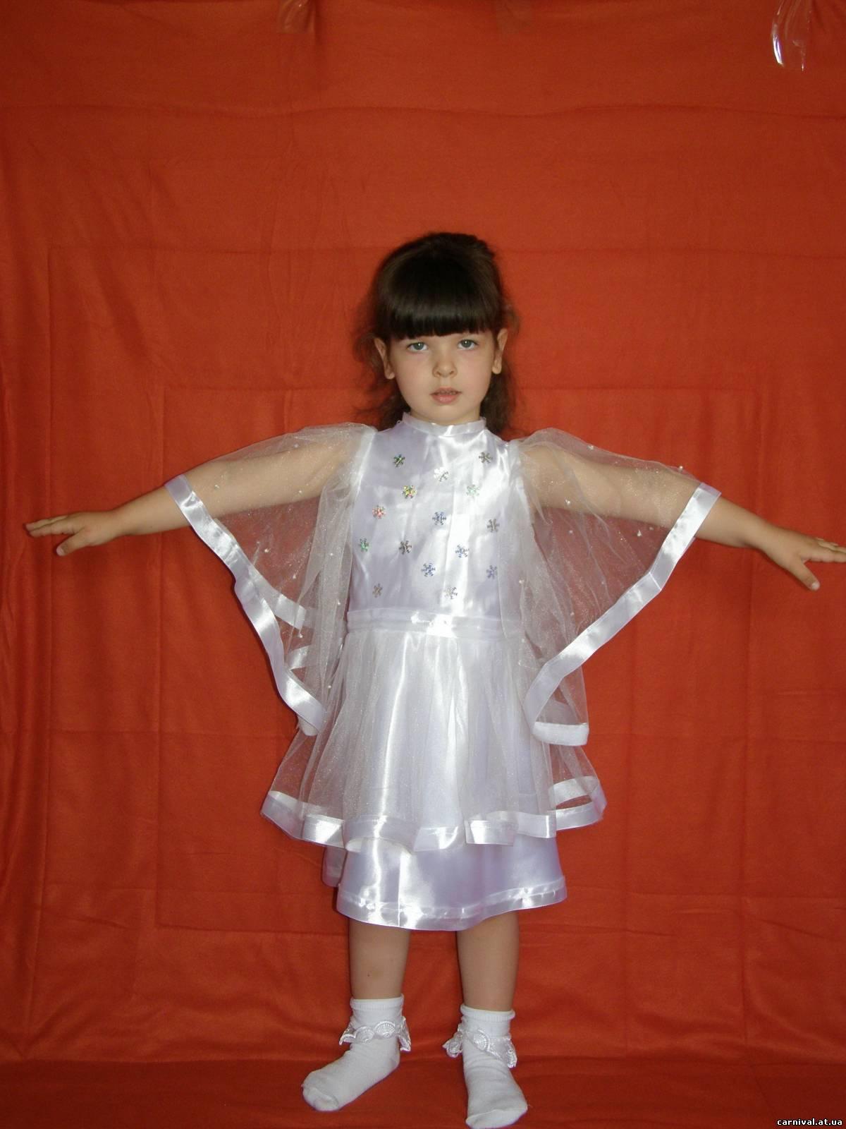 Костюм снежинки для девочки 3 лет своими руками